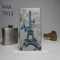 Чехол для lenovo p70 панель накладка с рисунком башня и бабочки