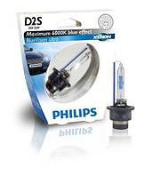 Автолампа D2S   ксеноновая Philips 85122 Blue Vision Ultra S1