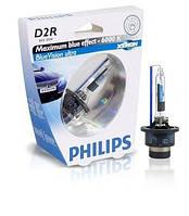 Автолампа D2R   ксеноновая Philips 85126 Blue Vision Ultra S1