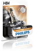 Автолампа HB4  галогеновая 51W Philips 9006PRB1 Premium Plus