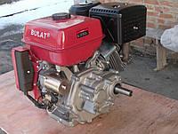 Двигатель бензиновый BULAT BT190FE-L (16 л. с., вал под шпонку, 25 мм, с эл. стартером и редуктором)