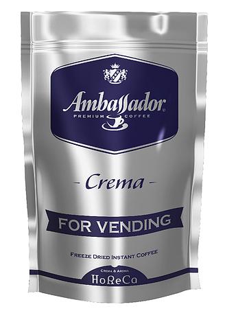 Кофе растворимый для торгових автоматов  Ambassador  Crema, пакет 200г*6 (8718), фото 2