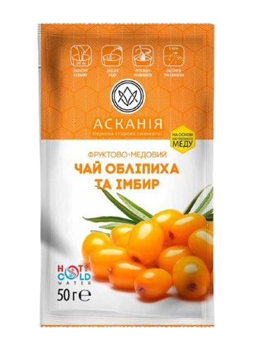 """Чай-саше конц.""""Облепиха и  имбирь"""" 50г (24)"""