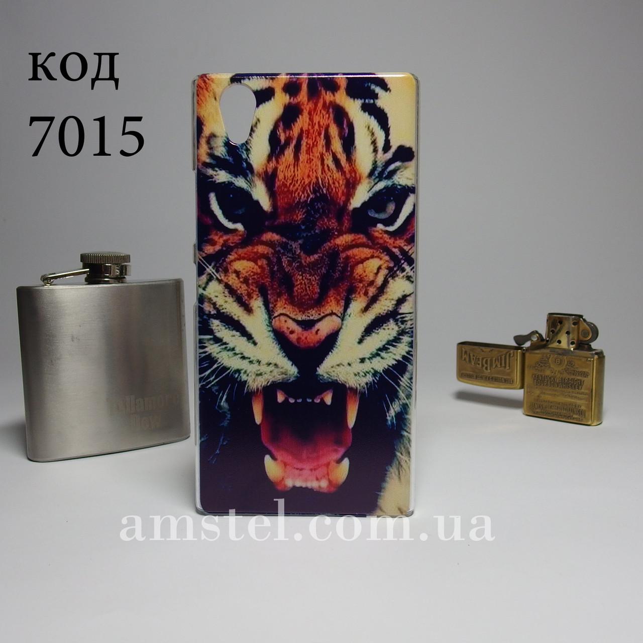 Чехол для lenovo p70 панель накладка с рисунком тигр