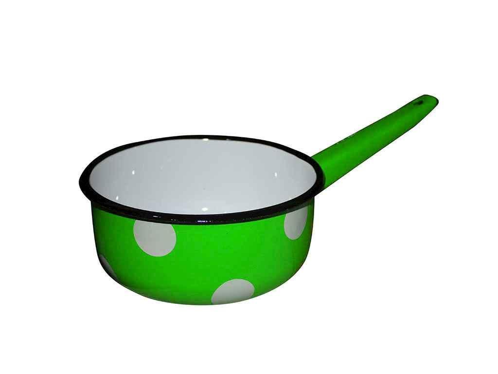 Ковш кухонный Idilia 1.5 литра Белый горох (зеленый) (I21082/4)