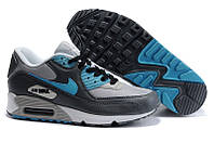 Кроссовки мужские Nike Air Max 90  (найк аир макс 90) серые