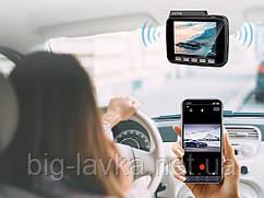 Авторегістратор AZDOME GS63H (GPS, Wi-Fi, 4К 2160P)