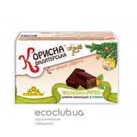 Шоколадные конфеты Мрія (желейная конфета с курагой в шоколаде)