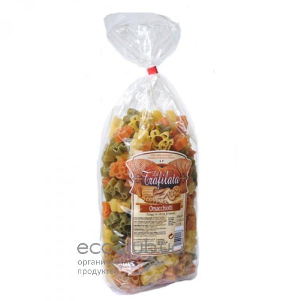 Макароны мишки 3 цвета Orsachiotti Pastello 500г