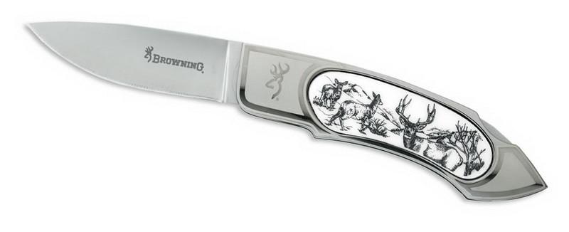 """Нож Browning """"Scrimshaw Muledeer"""""""