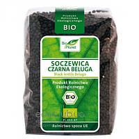 Чечевица черная белуга органическая Bio Planet 400г