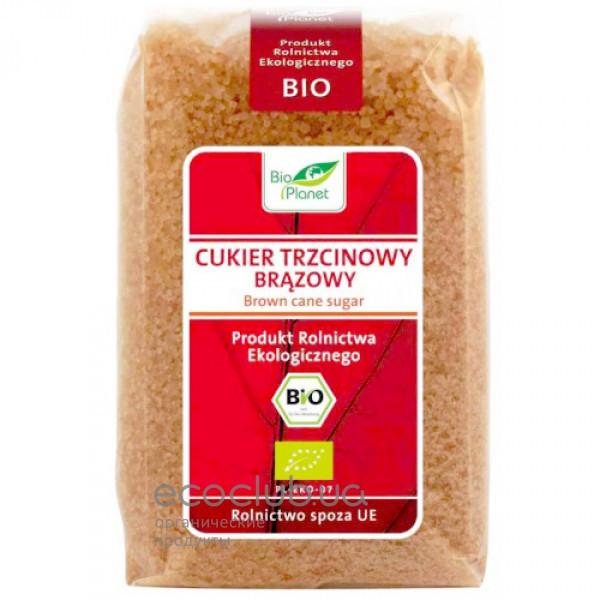 Сахар тростниковый коричневый органический Bio Planet 500г