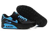 Кроссовки мужские Nike Air Max 90  (найк аир макс 90) черные