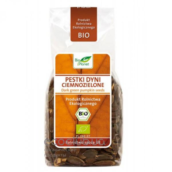 Семена тыквы темнозеленые органические Bio Planet 150г