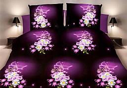 Двуспальный комплект постельного белья евро 200*220 хлопок  (10360) TM KRISPOL Украина