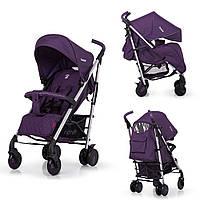 Прогулочная коляска CARRELLO Arena CRL-8504 Ultra Violet в льне алюминиевая
