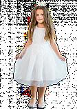 Шикарное белое  детское платье с пышной юбкой на 2-3 года, фото 2