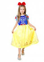 Карнавальный костюм  Белоснежка для девочек 5-6 лет