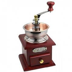 Кофемолка ручная с деревянным ящиком Empire EM-2360 Brown