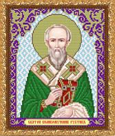 """Рисунок на ткани для вышивания бисером """"Святой Великомученик Руслан"""""""