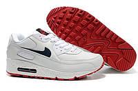 Кроссовки мужские Nike Air Max 90  (найк аир макс 90) белые