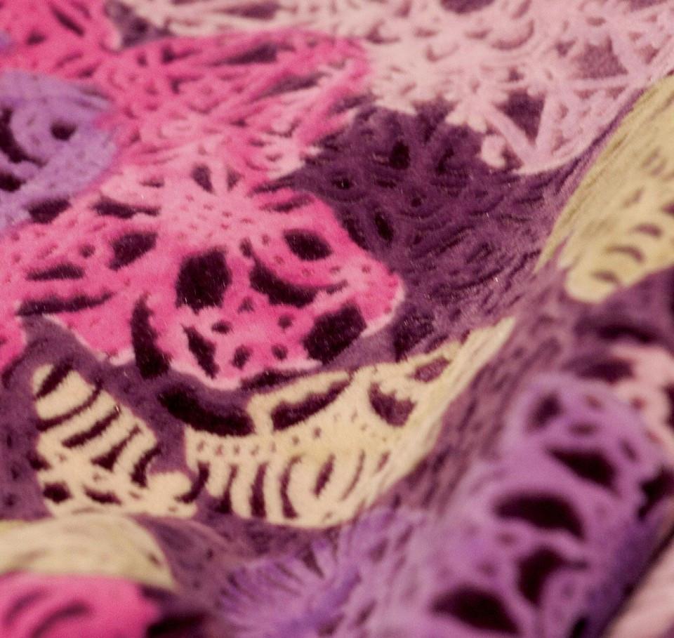 Мебельная ткань майкровелюр мокрая печать RIGLY