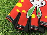 Велоперчатки детские (красные, синие, чёрные), фото 6