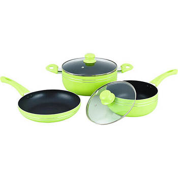Набор посуды Gusto GT-2405/1 Green 5 предметов