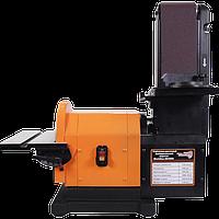 Шліфувальний верстат із стружковідсосом Workman 4800 стрічково дисковий шліфувальний верстат точильний, фото 1