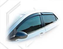 Дефлекторы окон Mazda 2 II Hb 5d 2008 | Ветровики Мазда 2