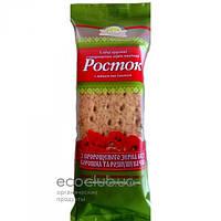 Хлебцы из пророщенной пшеницы Росток с маком и изюмом Укр Эко Хлеб 120г