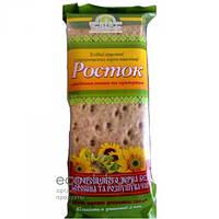 Хлебцы из пророщенной пшеницы Росток с семенами подсолнуха Укр Эко Хлеб 120г