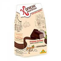 Конфеты шоколадные Птичье молоко шоколадное Корисна Кондитерська 150г