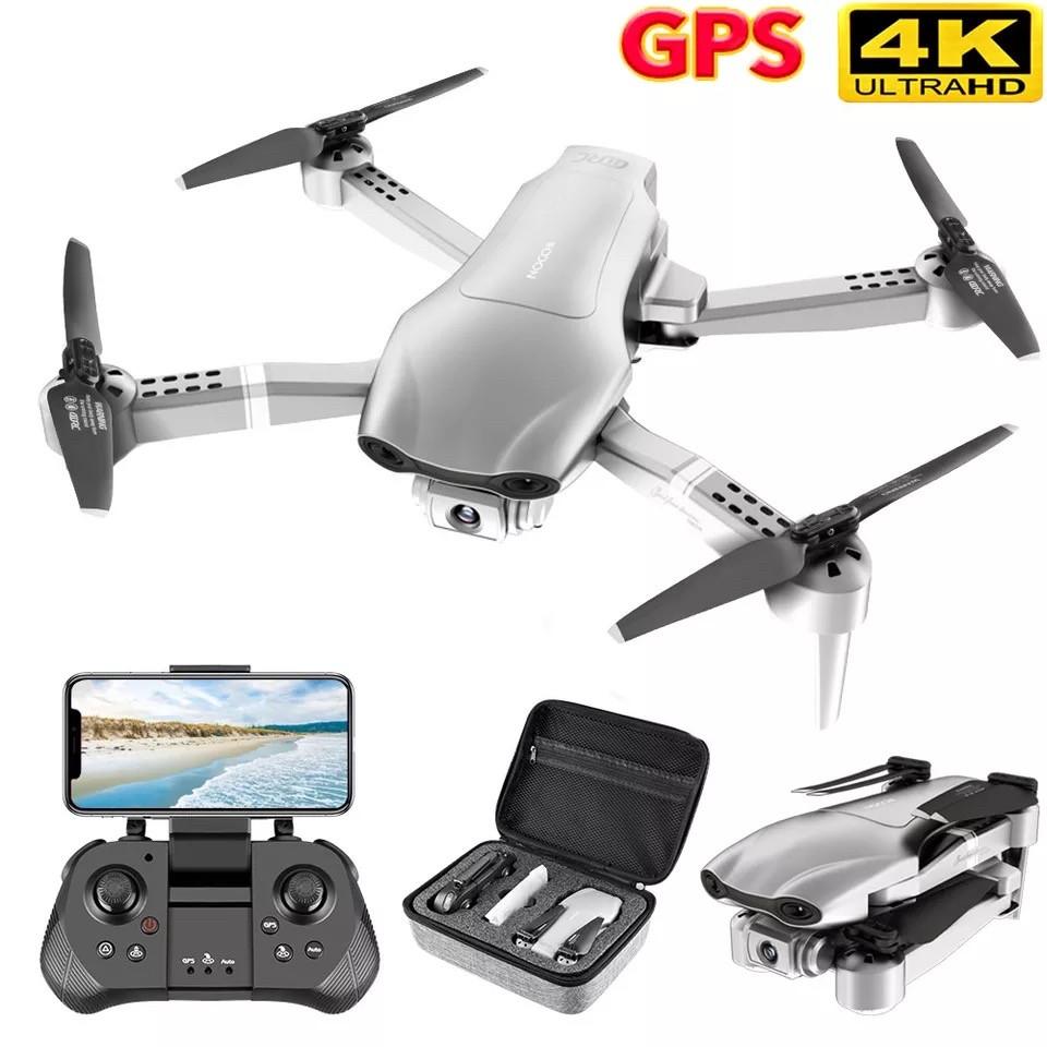 Квадрокоптер SJRC F3 GPS Дрон с Wi-Fi 2 камеры FPV 20 минут