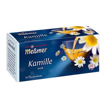 Чай Мессмер ( Meßmer  - Messmer ) травяной чай ромашка 25 пакетиков
