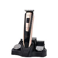 Машинка для стрижки волосся подарункова упаковка 5в1 Lexical LHC-5601