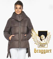 Воздуховик Braggart angel's Fluff   Куртка жіноча зимова з капюшоном колір капучіно