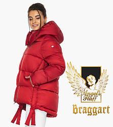 Воздуховик Braggart angel's Fluff   Жовта куртка жіноча зимова