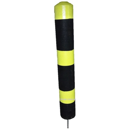 Гумовий паркувальний (обмежувальний) стовпчик