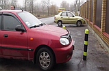 Гумовий паркувальний (обмежувальний) стовпчик, фото 2