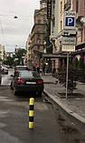 Гумовий паркувальний (обмежувальний) стовпчик, фото 3