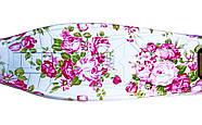 Детский самокат MAXI Flowers Roses Светящиеся малиновые колеса Гарантия качества Быстрая доставка, фото 2