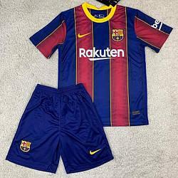 Детская футбольная форма Барселона основная сезон 2020-21