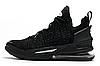 Баскетбольные кроссовки Nike Lebron 18 Black Реплика