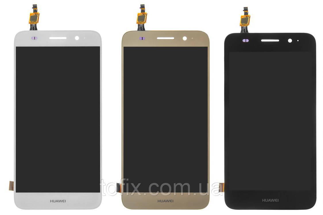 Дисплейный модуль (экран и сенсор) для Huawei Y3 (2017), Y5 lite (2017), CRO-L22, CRO-L02, CRO-U00, оригинал