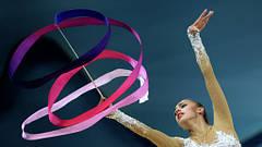 Стрічки гімнастичні