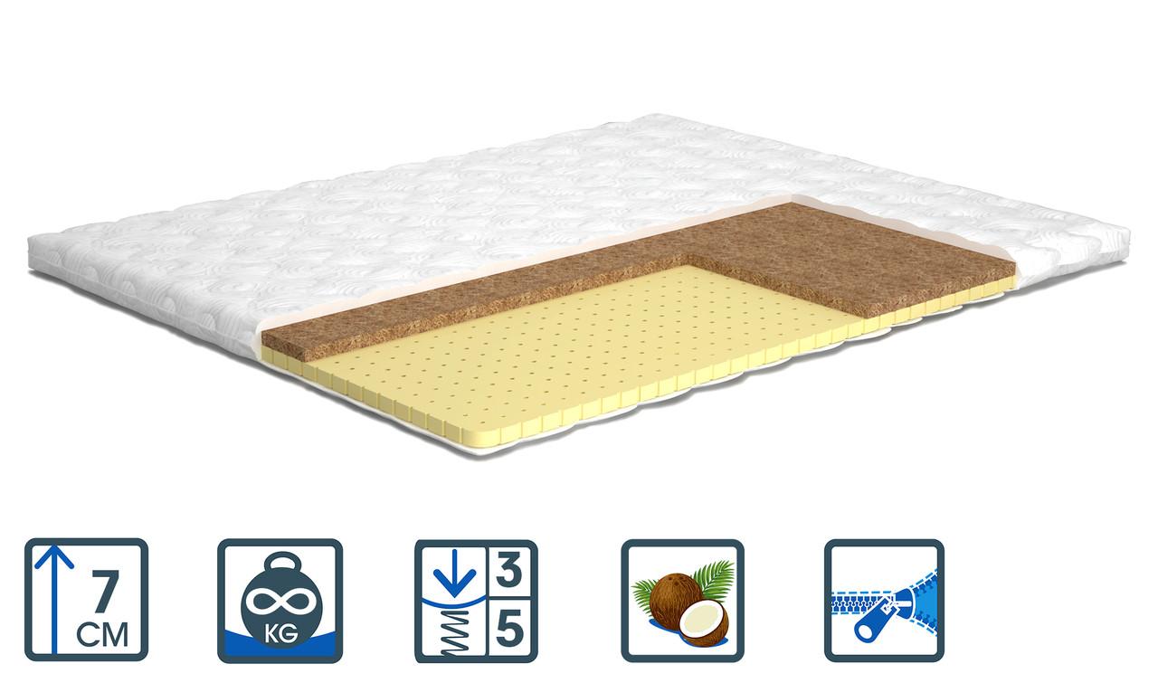 Матрас Topper-futon 5/Топпер-футон 5, Размер матраса (ШхД) 65x180