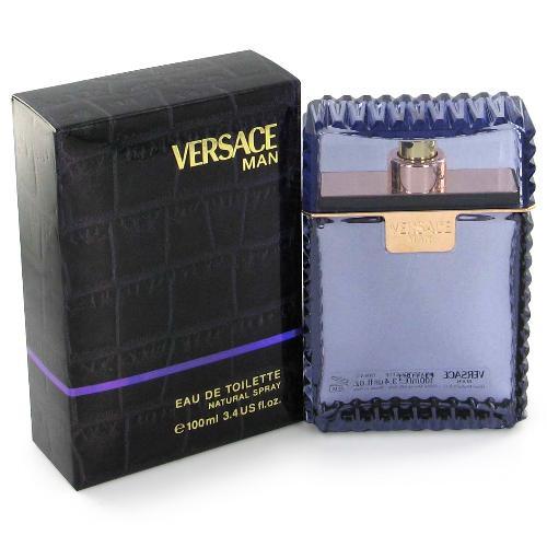 Туалетна вода для чоловіків Versace Man (Версаче Мен)100ml