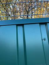 Угловая планка 40 Х 40 мм, зеленая, комплектующие для профнастила,, фото 2