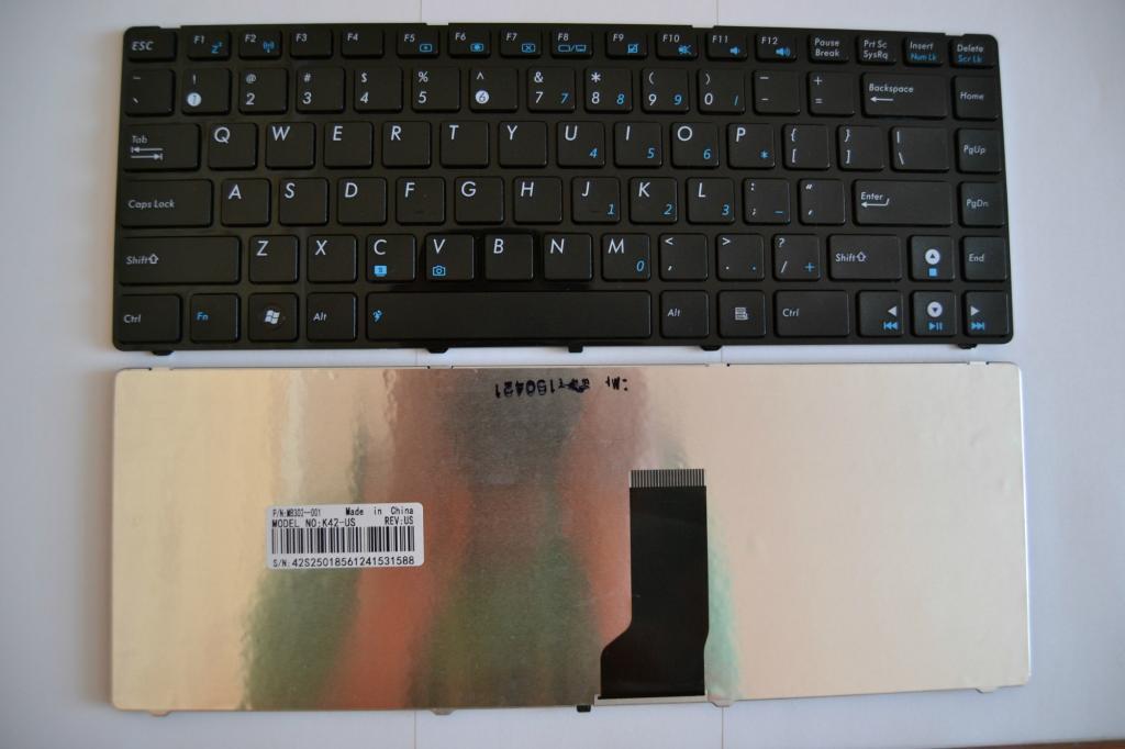 Клавиатура Asus UL30,UL80,X42,X43,43,N82,K42